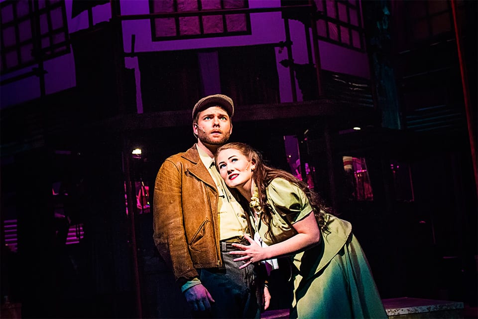 Sam Levi plays Bobby Strong and Madison Stevens plays Hope Cladwell.
