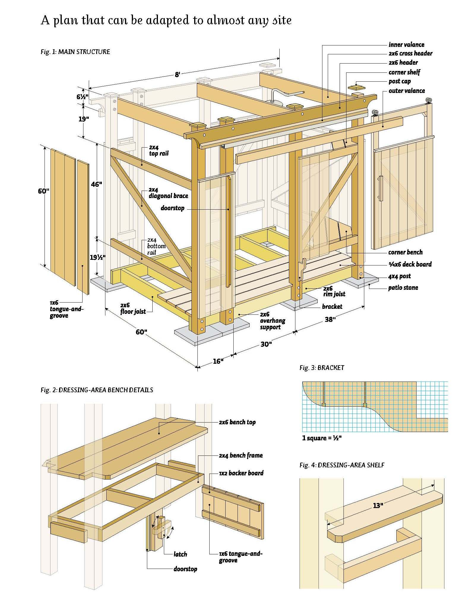 DIY Free woodworking plans for outdoor projects PDF Plans Wooden Free ...