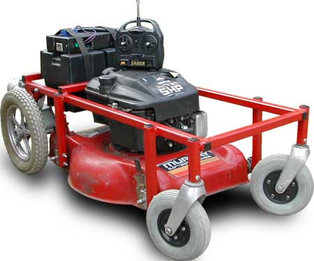 remote control lawn mower plans
