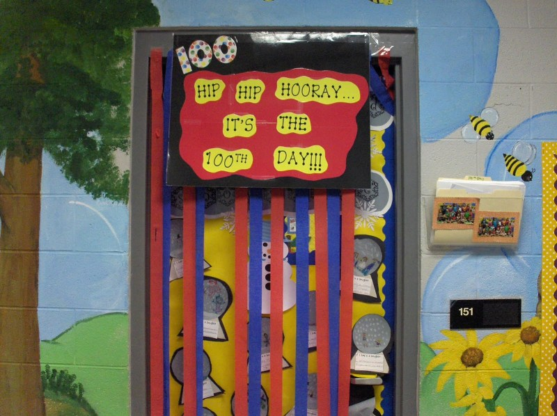 100th day of school decorations for 100th day of school decoration ideas