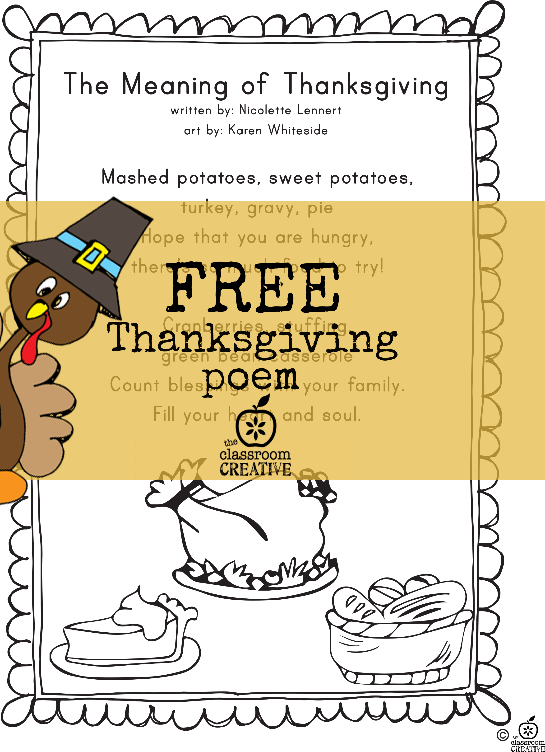 5 Free Thanksgiving Math Literacy And Art Activities For K 2