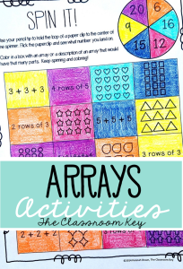 Arrays Activities ($) Fun, no prep practice for second and third graders that builds a foundation for learning multiplication