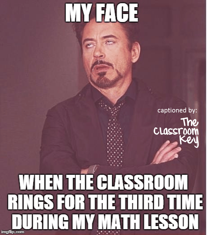 class interruptions!  #teacherproblems