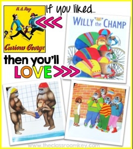 If you liked Curious George, then you'll love Willy the Champ, picure book recommendations  #childrensliterature