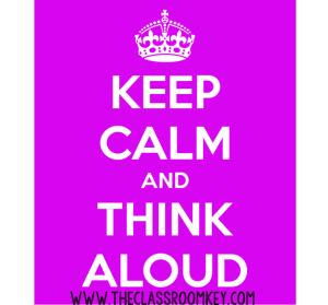 Keep Calm and Think Aloud, 9 Researched Based Teaching Strategies