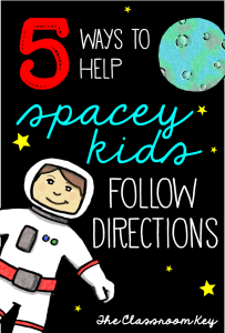 5 Ways to Help Spacey Kids Follow Directions