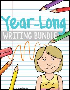 Year- Long Writing Unit Bundle - The Classroom Key