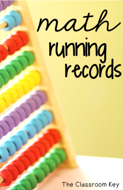 Math Running Records - An assessment to help elementary teachers find out what strategies students are really using to solve math facts