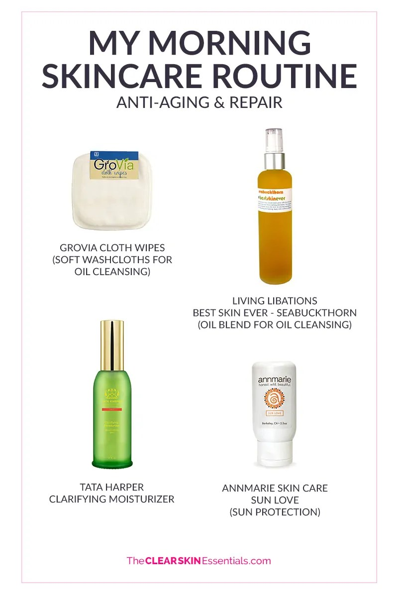 best natural skin care routine