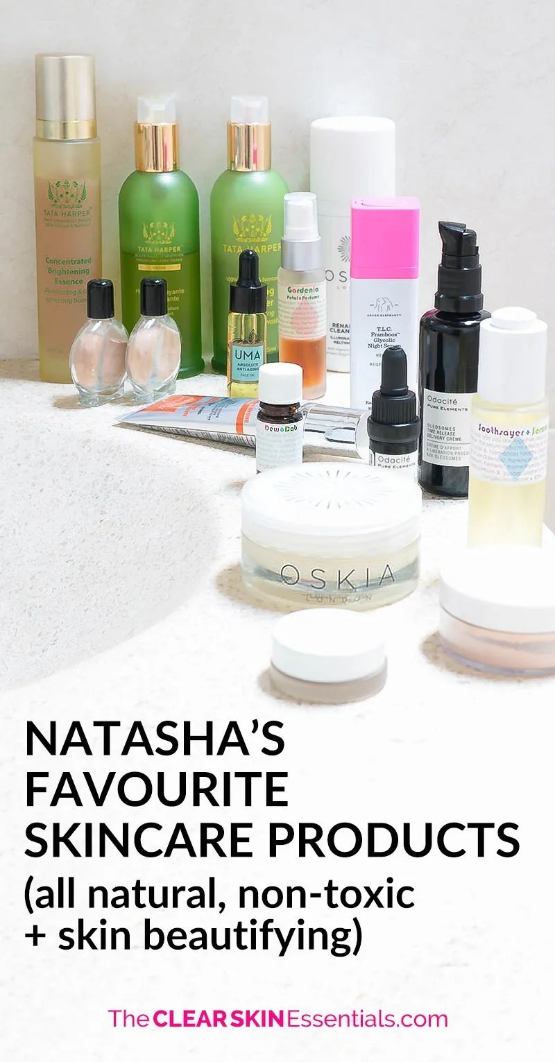 It's hard navigating through the endless amount of natural skincare products, and always wondering what's good, what's not?! Here's a list of my absolute favourite natural skincare and green beauty products. Be sure to sign-up to my mailing list for updates! | www.TheClearSkinEssentials.com