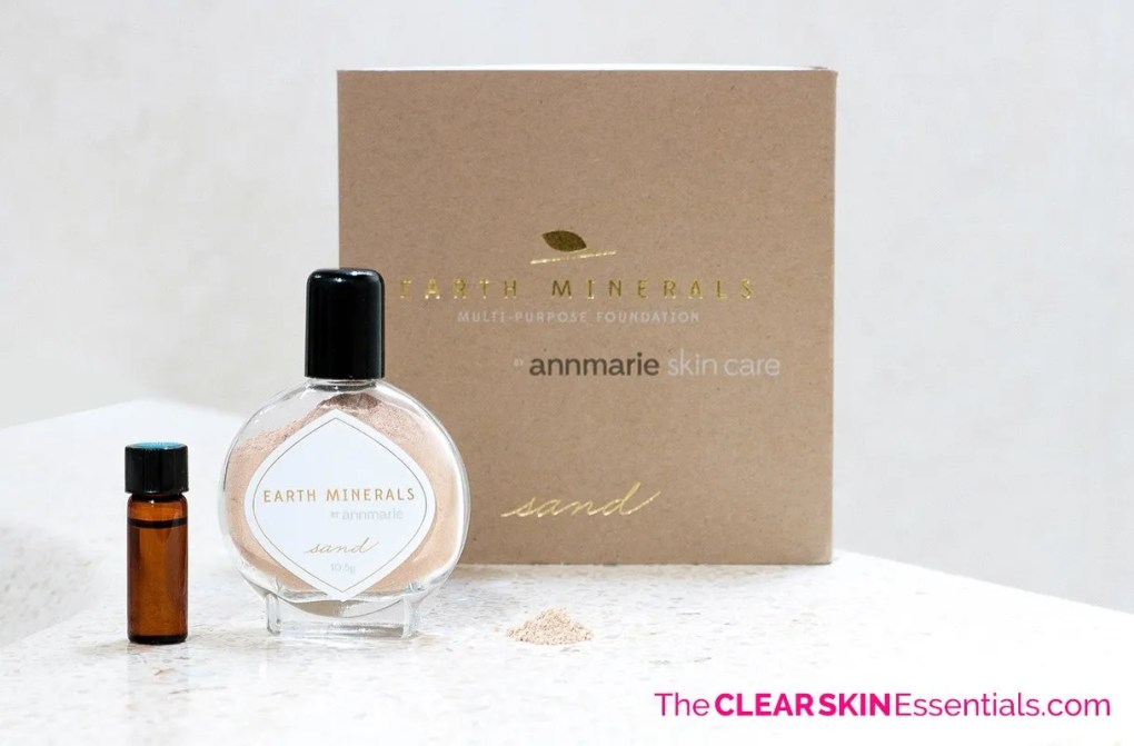 I am loving Annmarie Skin Care Minerals Multi-Purpose Foundation. This is one of the best all-natural makeup I've found! The makeup is pigmented powder that you mix with your facial oil, serum, or moisturizer to make a foundation, concealer, or tinted moisturizer. You have full control over the shade, coverage, and ingredients you're putting on your skin (this is especially great for sensitive or acne prone skin). Click through to read my full review. | www.TheClearSkinEssentials.com