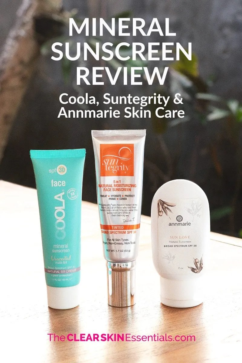 Sunscreen review