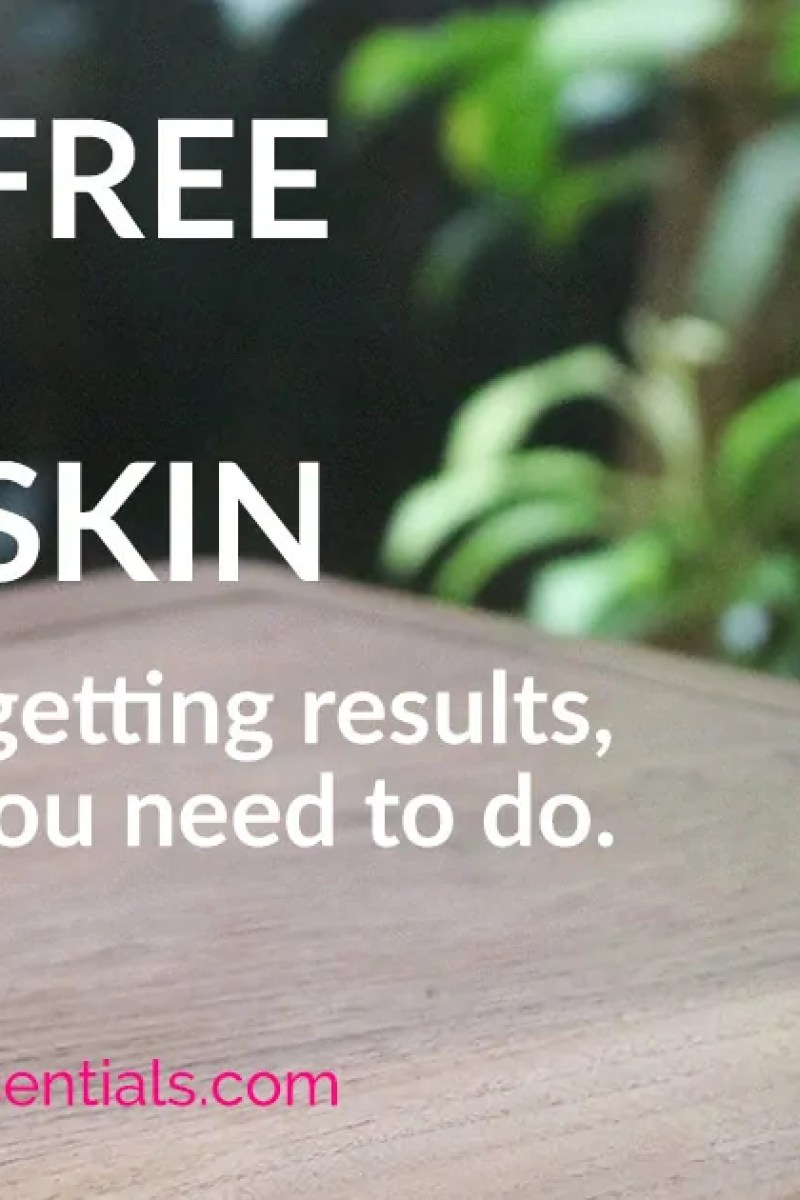 Have you gone dairy free for clear skin, but it's not helping to clear up breakouts or adult acne? Sometimes you've got to tweak things a little to get results. Click through to find out my 3 step protocol to start clearing up your skin now. | www.TheClearSkinEssentials.com