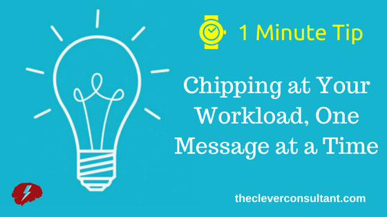 Chipping at Your Workload, One Message at a Time