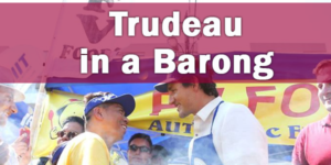 Canadian Prime Minister Trudeau Partakes in Pinoy Food Fest
