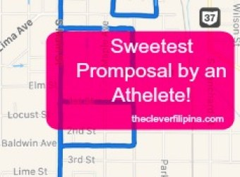 Sweetest Promposal by an Athelete