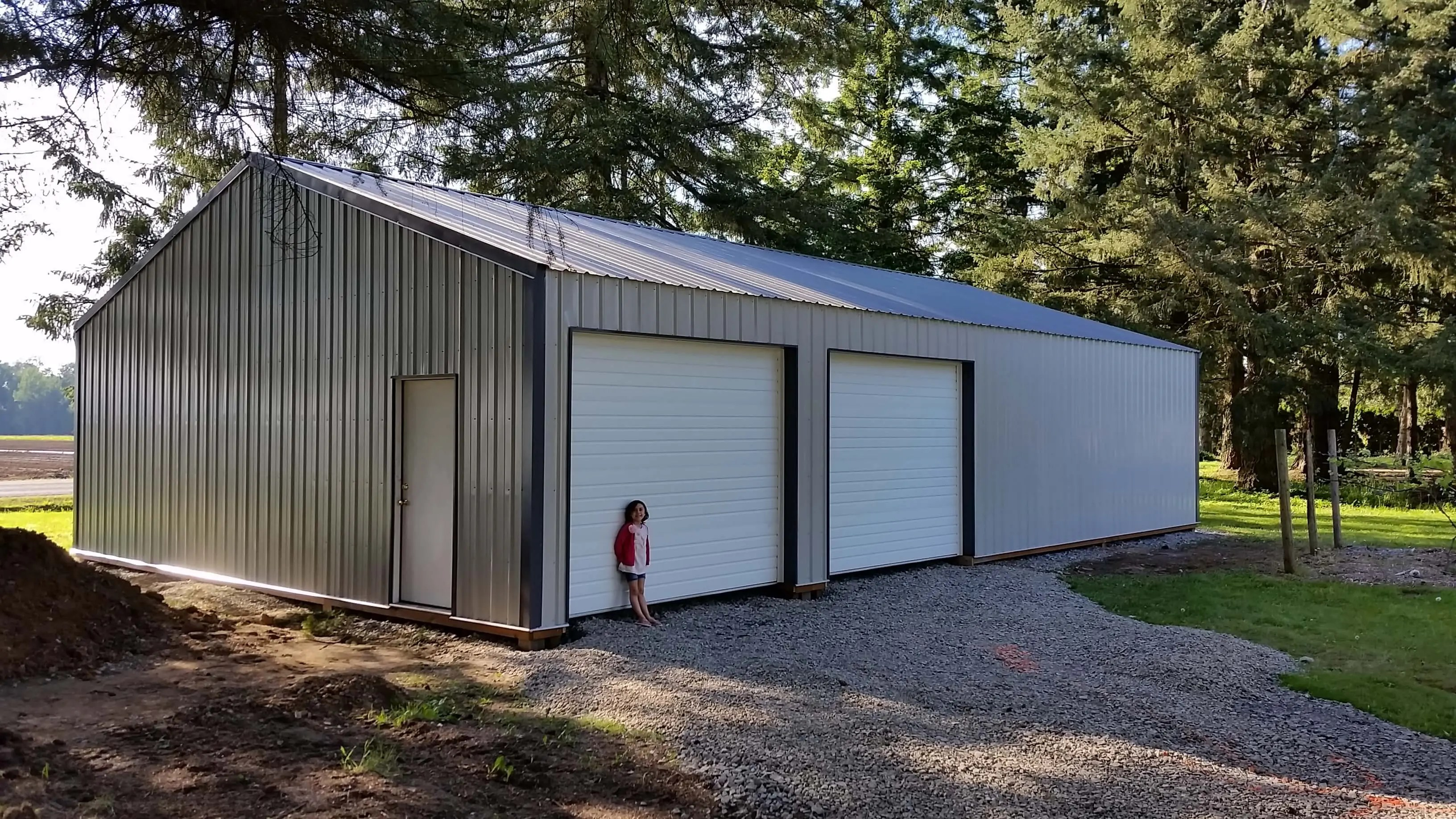 How much does a pole barn cost per square foot here 39 s for Pole garage pictures
