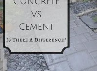 concrete vs cement