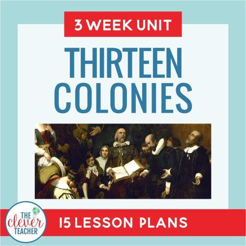thirteen colonies unit