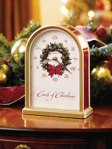 Christmas Clocks Howard Miller 645 424 Carols Of Christmas II Clock