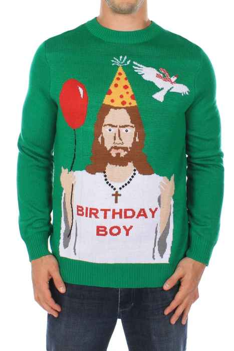 funny jesus christmas jumper - the clothes maiden