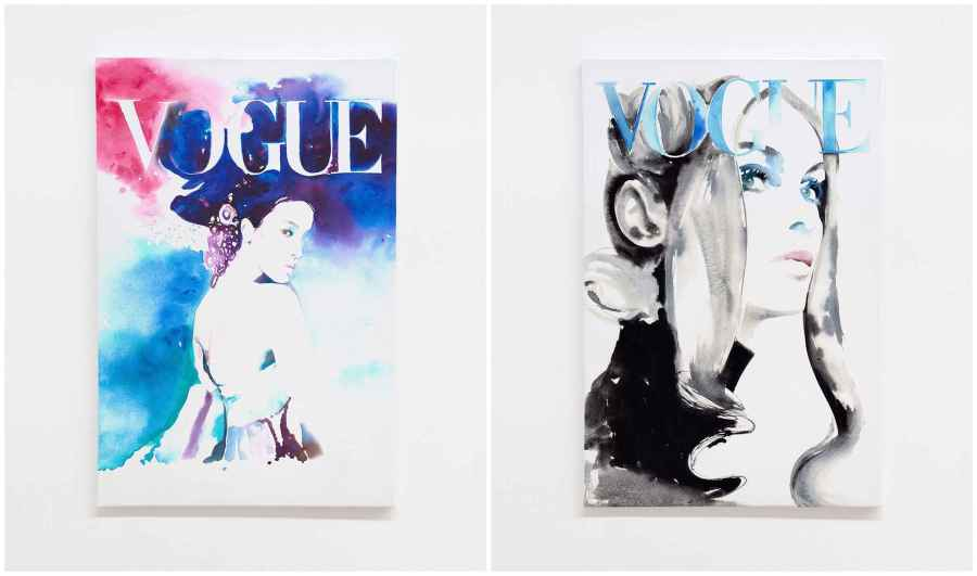 vogue art prints - the clothes maiden