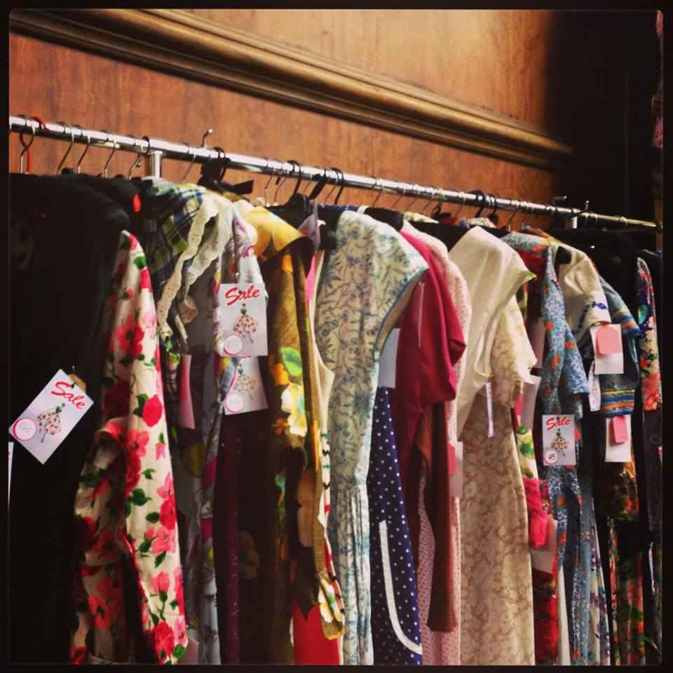 Hammersmith vintage fashion fair 84