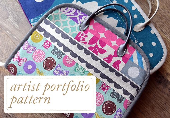 Artist Portfolio Pattern