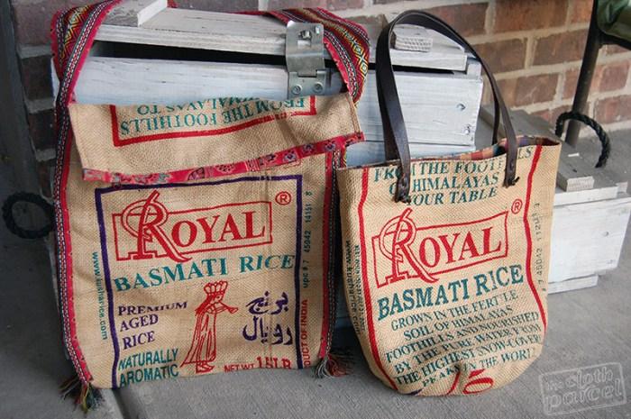 Basmati Rice Bag Purses Giveaway