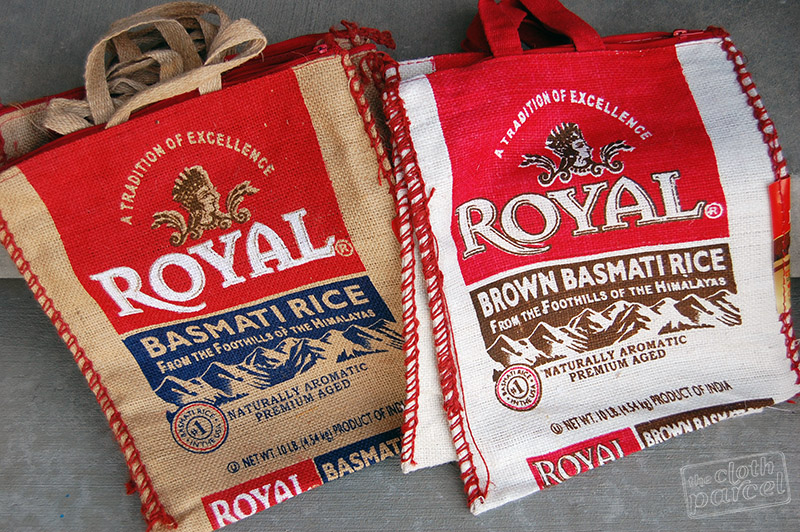 Basmati Rice Bag Purses Giveaway