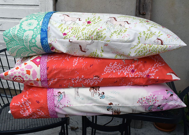 Burrito Pillowcase with One Way Fabrics