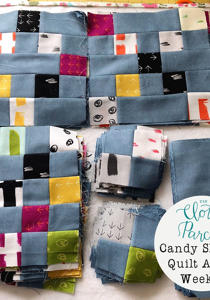 Candy Shoppe Quilt Along Week 3: Sew Blocks