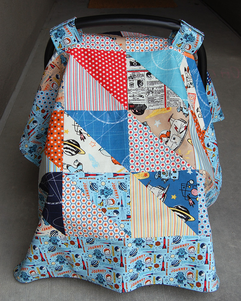 Make This Car Seat Canopy Tutorial