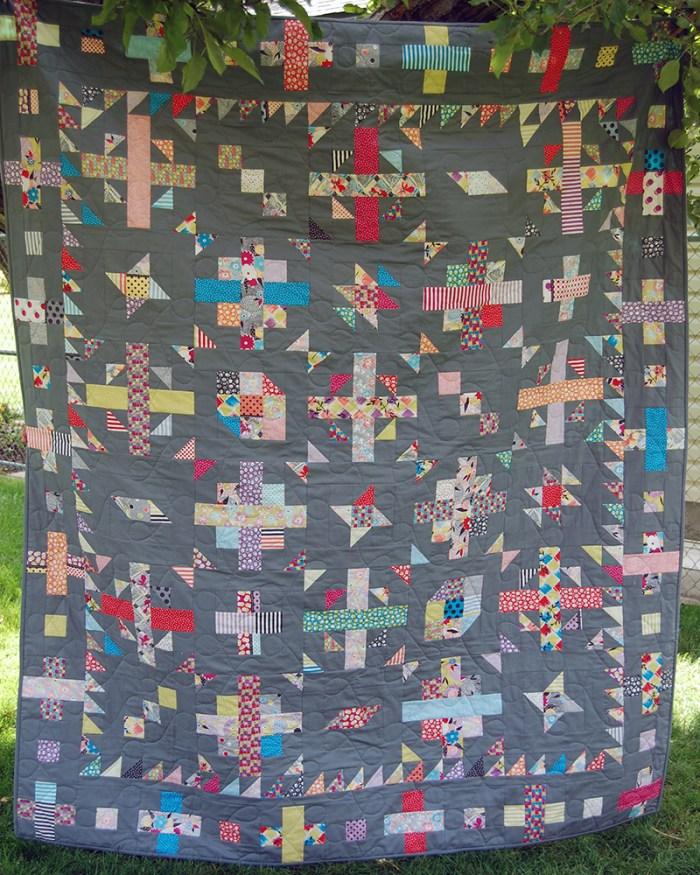 Confetti Weave Quilt 2 web