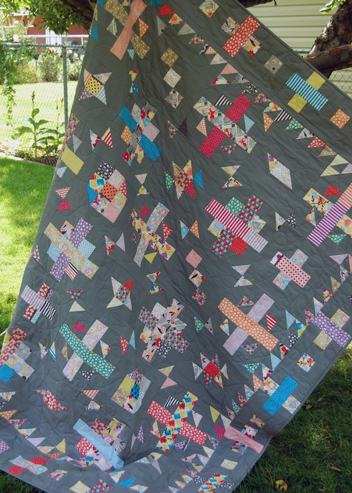 Confetti Weave Quilt 3 web