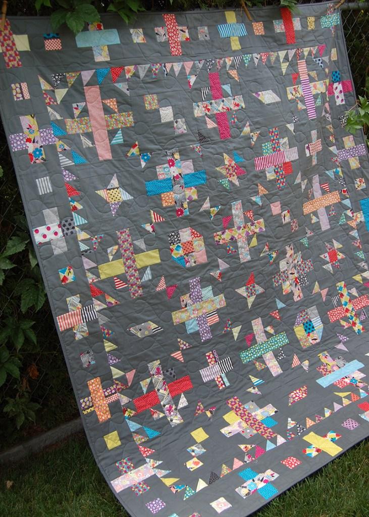 Confetti Weave Quilt 4 web