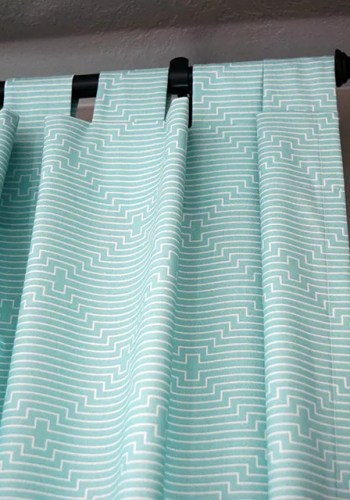 Make This: Tab Top Curtains Tutorial