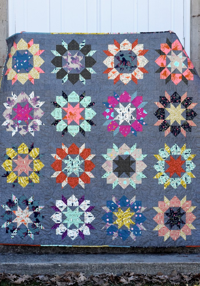 Japanese Swoon Sixteen Quilt