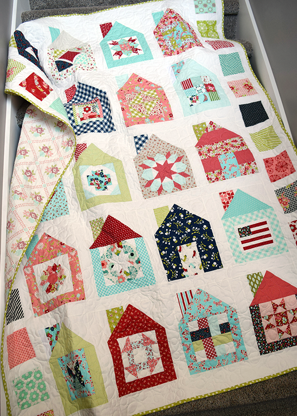 Quilts We've Made: Dwell Block Swap Quilt