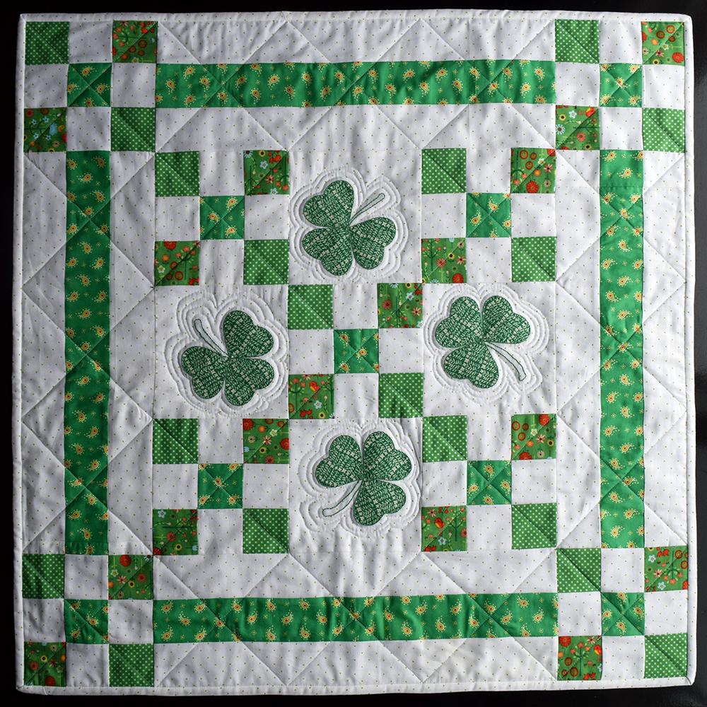 Irish Chain Table Topper