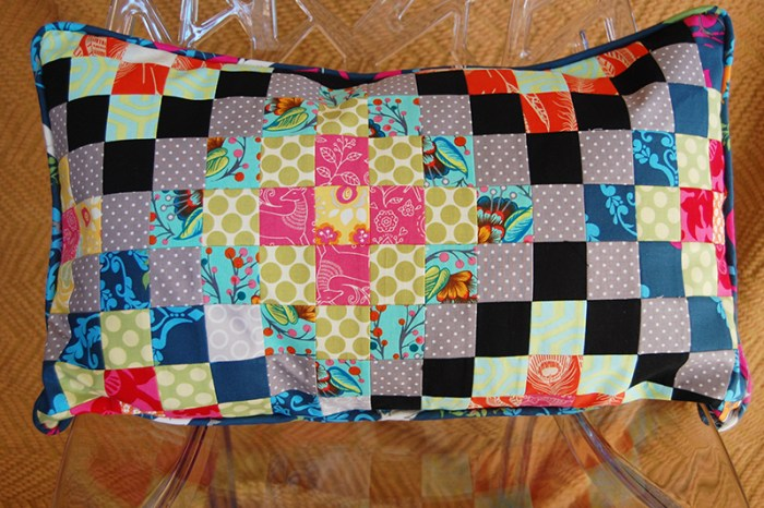 Patchwork Pillow 2