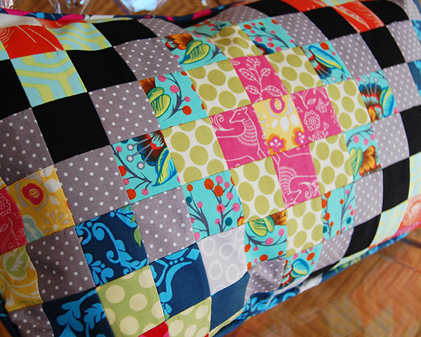 Patchwork by Fusible Grid