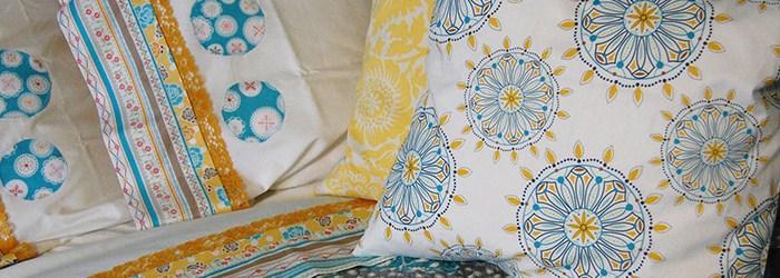 Vintage Vibe: Polka Dot Stitches Embellished Sheets