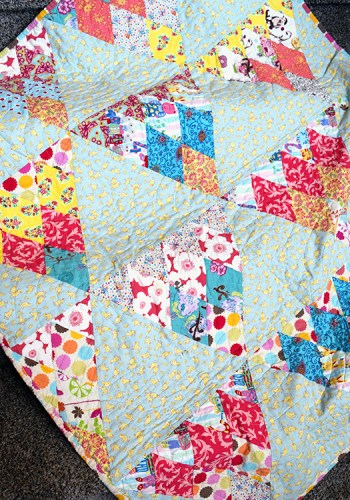 Quilts We've Made: Beautiful Baby Girl Quilts