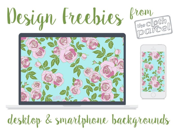 Secret Garden Backgrounds Design Freebies