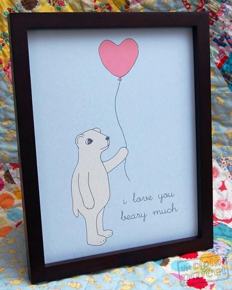 Valentine-Bear-Art