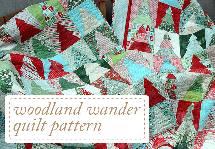 Woodland Wander Quilt Pattern