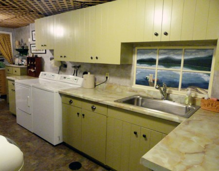 Basement Kitchen After