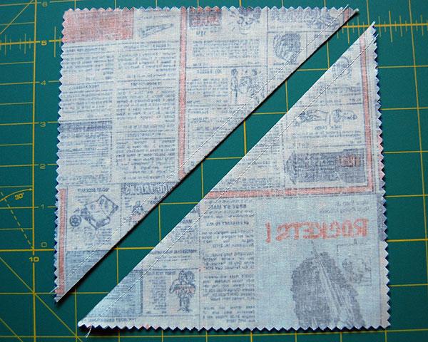 cut-along-diagonal