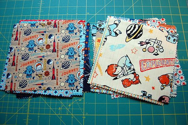 fabric-squares